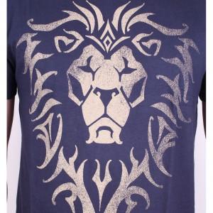Tshirt Warcraft - Alliance Logo Navy