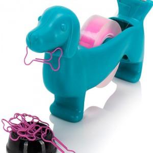 Dérouleur ruban adhésif chien