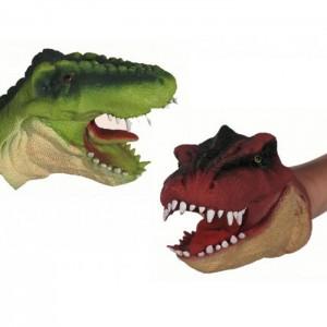 Marionnette de main dinosaure