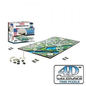 Puzzle 4D CityScape - Jeu de construction - WASHINGTON D.C