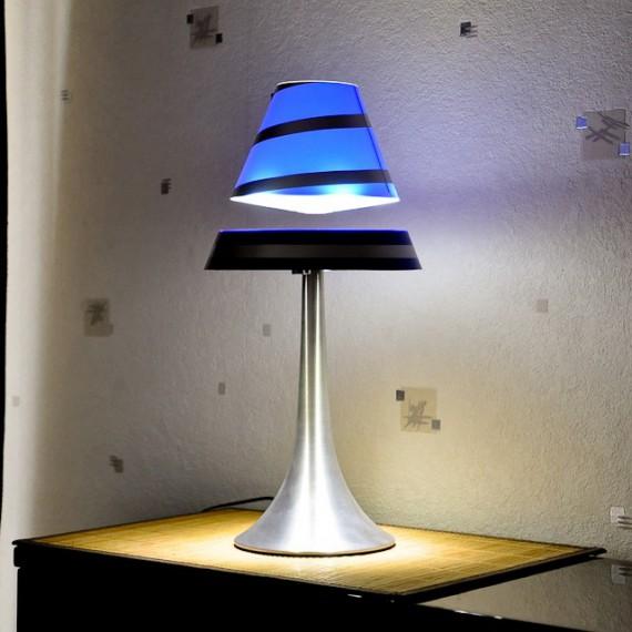 Lampe en lévitation ALTHURIA - Bleu et noir
