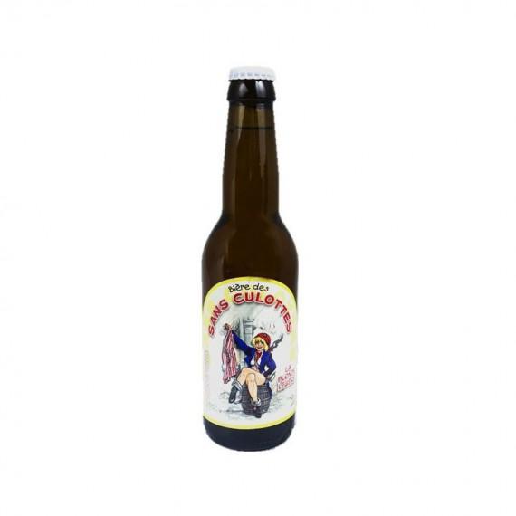 Bière blonde - BIERE DES SANS CULOTTES BLONDE LEGERE - 0.33L