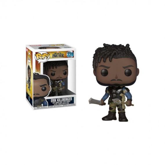 Figurine Marvel Black Panther - Killmonger Pop 10cm