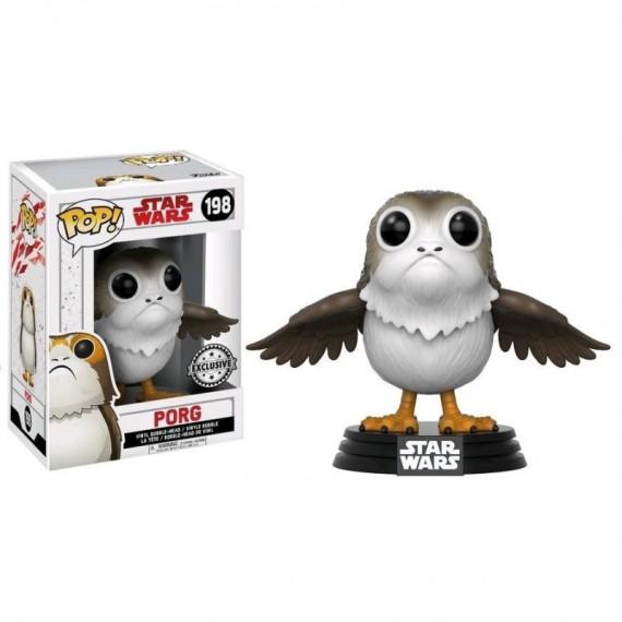 Figurine Star Wars episode 8 - Porg Open Wings Exclusive Pop 10cm