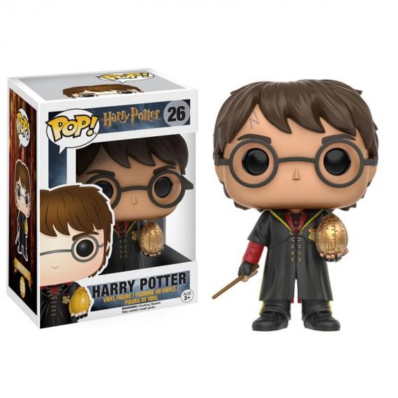 Figurine POP Harry Potter - Harry avec oeuf de dragon (Exclusive)