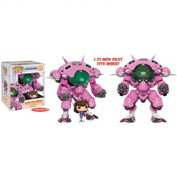 Figurine POP Overwatch - D.Va et Meka - Oversized