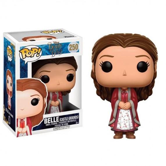 Figurine Disney - La belle et la bête - Belle en robe Pop 10cm