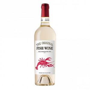 Vin blanc - THE ORIGINAL FISH WINE SAUVIGNON 0.75L