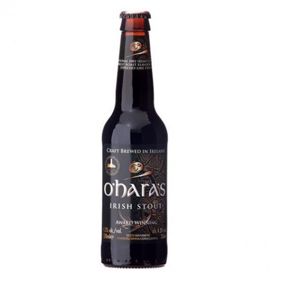 Bière brune - O'HARA'S IRISH STOUT 0,33L