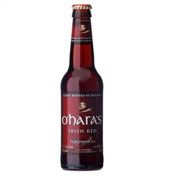Bière rouge - O'HARA'S IRISH RED 0,33L