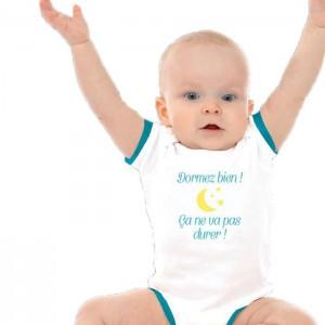 Body pour bébé « Dormez bien »