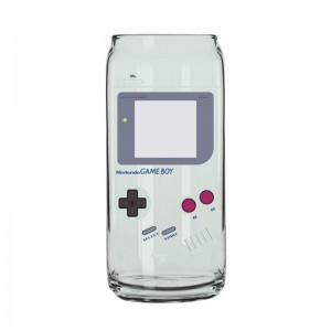 Canette en Verre Nintendo Game Boy
