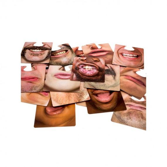 Sous-verres en forme de bouches
