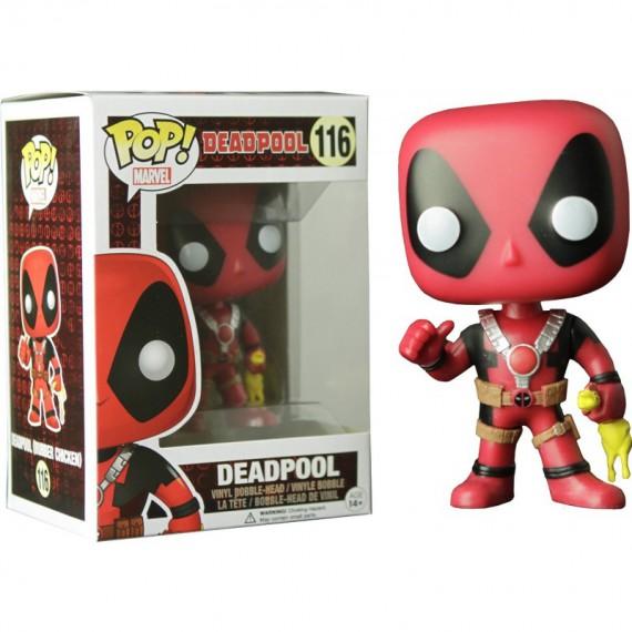 Figurine Pop Marvel - Deadpool Rubber Chicken