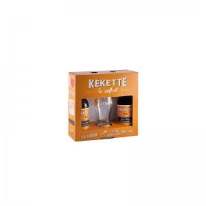 COFFRET 2 BIERES KEKETTE 33CL + 1 VERRE