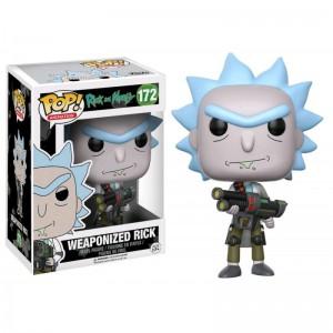 Figurine Pop! Rick & Morty - Weaponized Rick