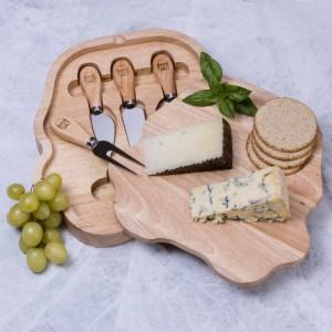 Set plateau et 4 couteaux à fromage Stormtrooper