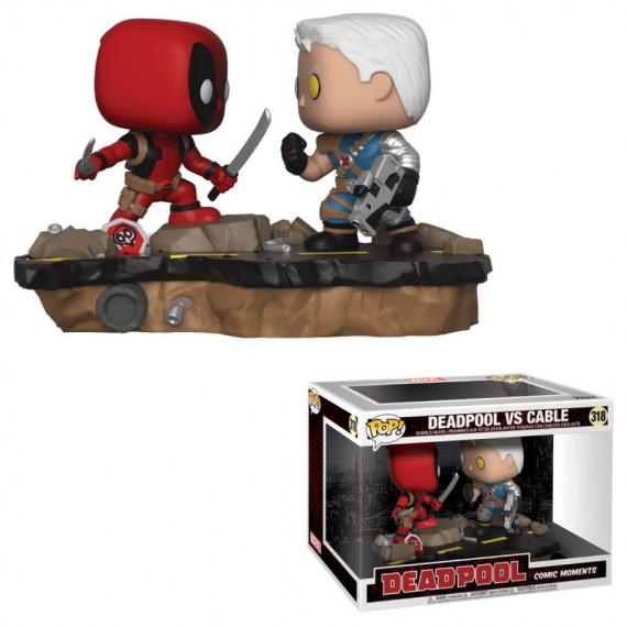 Figurine Pop Marvel - Deadpool avec Cable