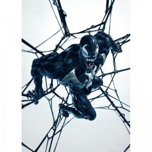 Panneau en Métal Marvel - Venom