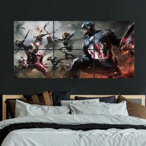 Panneau en Metal - Civil War - Multiplate