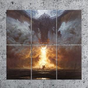 Panneau en Metal - Dragon's Breath - Multiplate