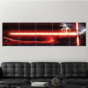 Panneau en Metal - Kylo Ren / Star Wars - Multiplate