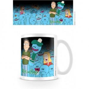 Mug Rick et Morty - Jerry et Mr Meeseeks Thermoréactif