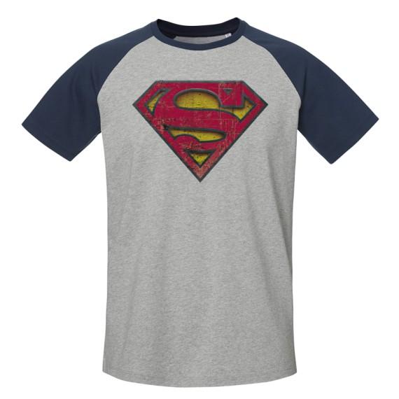Tshirt DC Comics - Superman Baseball