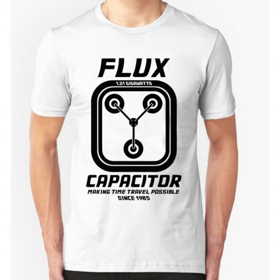 Tshirt Retour vers le Futur - Flux capacitor