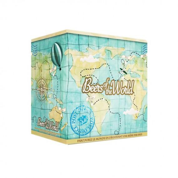 Coffret cadeau 24 Bières du monde + 1 Verre