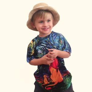 T-shirt enfant - Personnalisé à partir d'un dessin