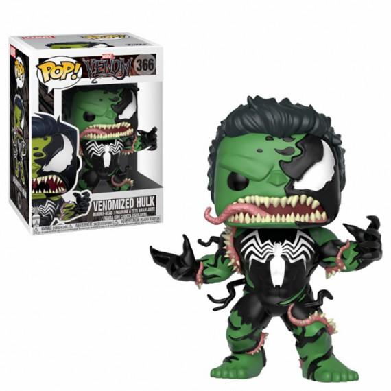 Figurine Pop Marvel - Venomized Hulk