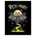 Cadre Rick et Morty - UFO / soucoupe volante