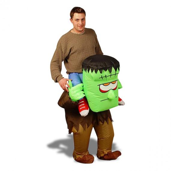 Costume gonflable monstre de Frankenstein