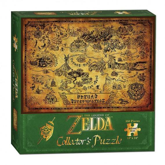 Puzzle Zelda - Hyrule - 550 pièces