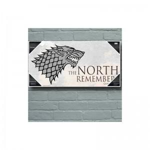Décoration Murale Game Of Thrones Maison Stark