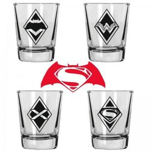 Pack 4 shooters Batman v Superman