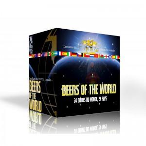 Calendrier de l'avent - 24 Bières du monde + 1 Verre