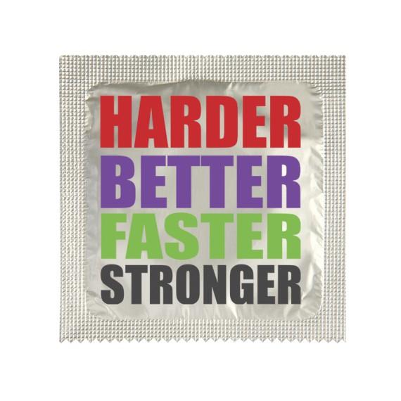 Préservatif - Harder Better