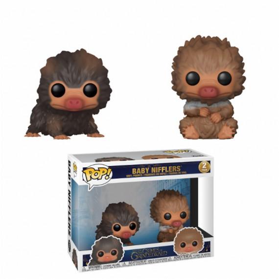 Pack 2 Figurines POP Fantastic Beasts 2 Baby Nifflers