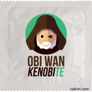 Préservatif - Obi Wan Kenobite
