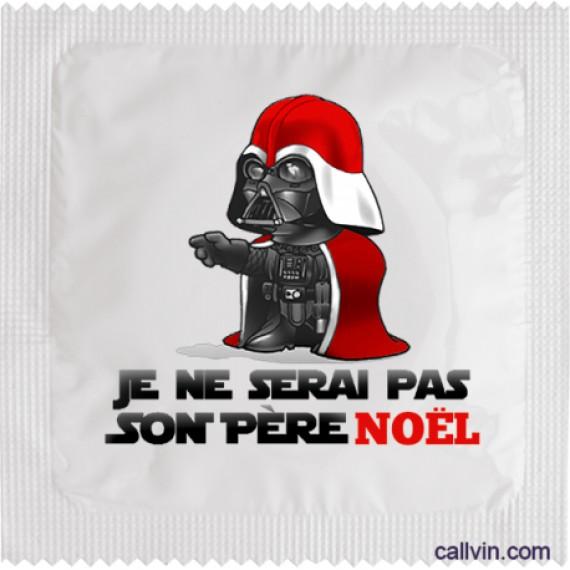 Préservatif Dark Vador Star Wars - Père Noël