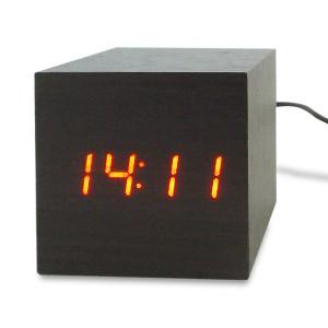 Horloge / Réveil cube LED Click Clock