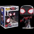 Figurine Marvel - Animated Spider-Man Black Suit Miles Morales Pop 10cm