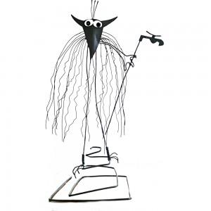 Figurine réplique SHADOKS fait main - Le Devin Plombier 2