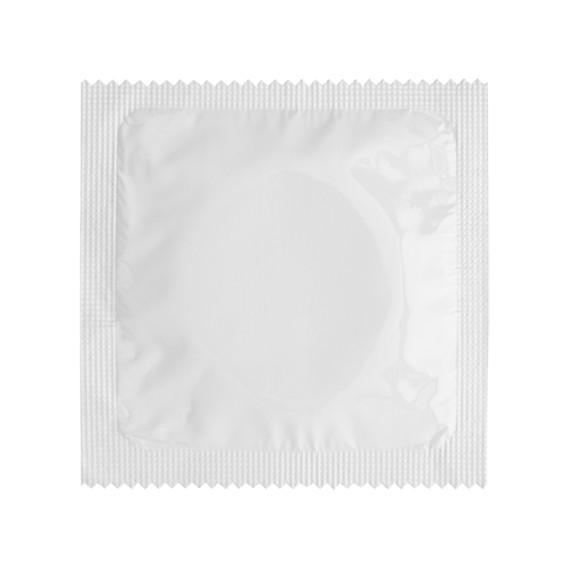 Préservatif Blanc - à personnaliser