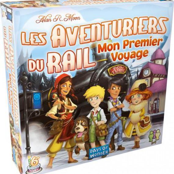 Les aventuriers du rail - Mon premier voyage Europe - Version française