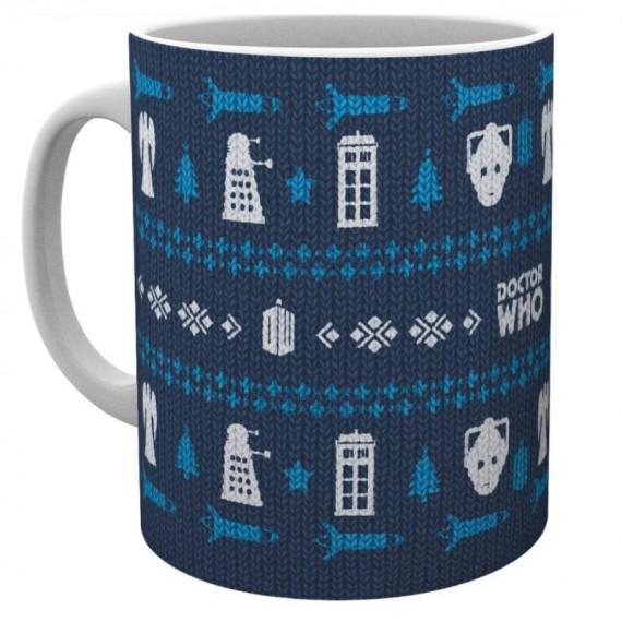 Mug de Noël - Doctor Who
