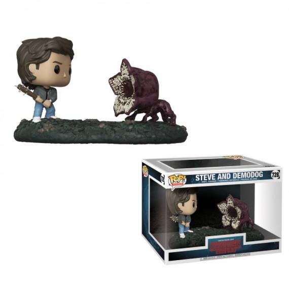 Figurine POP Movie Moments Stranger Things Steve vs Demodog
