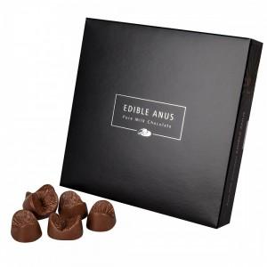 L'anus comestible en chocolat